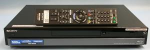 SONY BDレコーダー BDZ-RX50