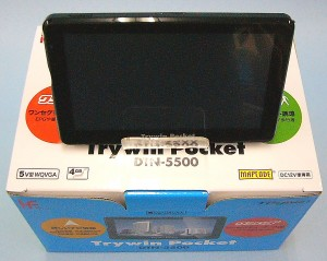 Trywin カーナビ DTN-5500