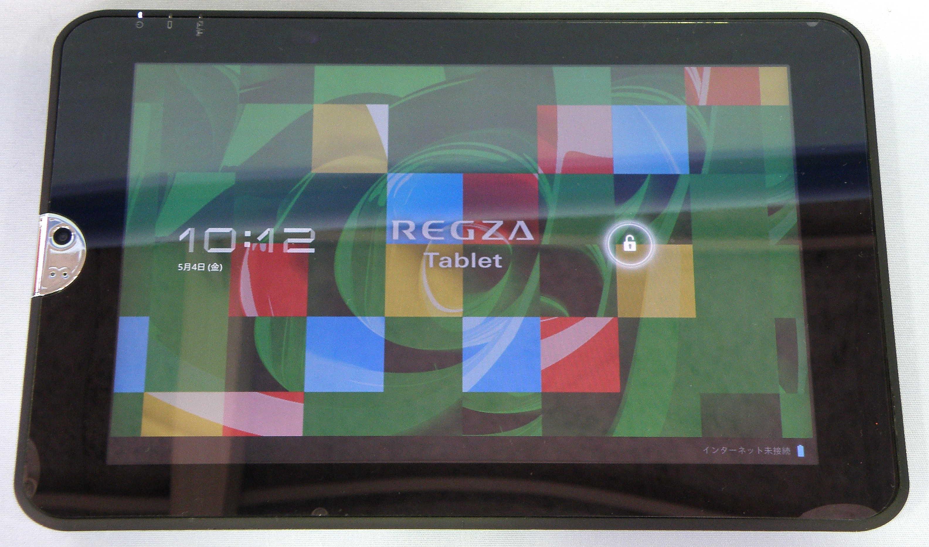東芝 タブレット REGZA Tablet AT300/24C