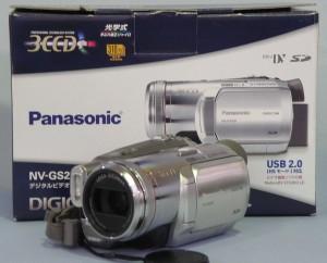 Panasonic MiniDV ビデオカメラ NV-GS250