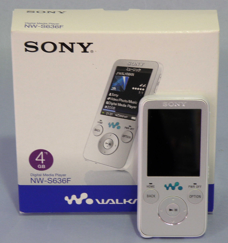 SONY ウォークマン NW-S636F