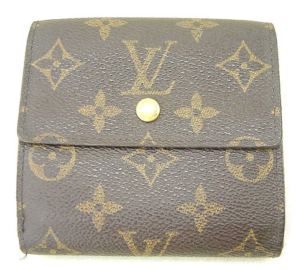 LOUIS VUITTON モノグラム二つ折り財布
