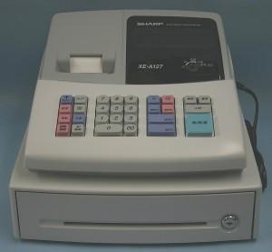 SHARP レジスター XE-A127-H