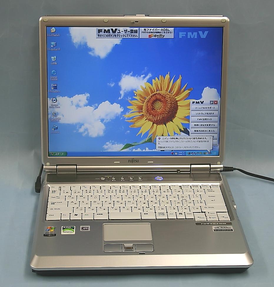 富士通 ノートパソコン FMVNB40S