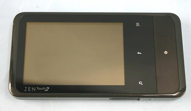 CREATIVE デジタルオーディオプレーヤー ZN-T28G-BK
