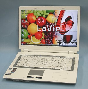 NEC ノートパソコン PC-LL570KG3E