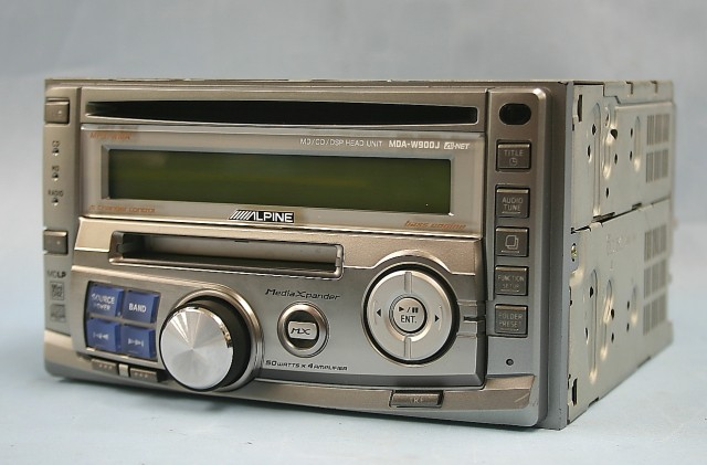 ALPINE カーステレオ MDA-W900J