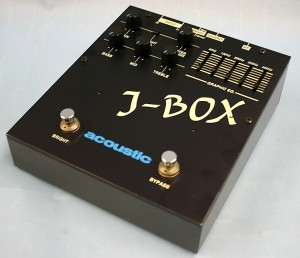 acoustic プリアンプ J-BOX