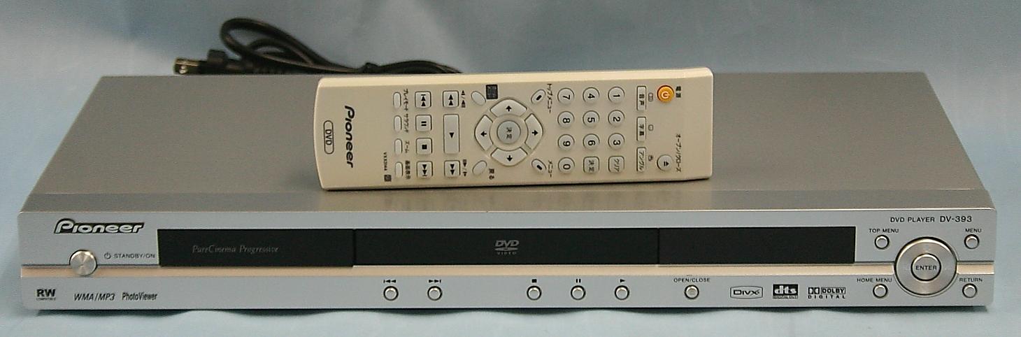 Pioneer DVDプレーヤー DV-393
