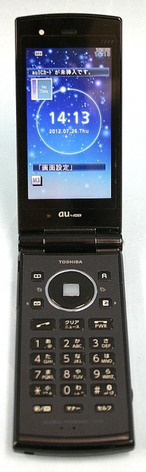 au/東芝 携帯電話 T008
