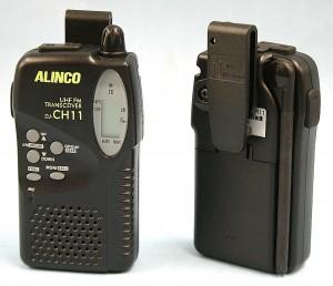 ALINCO トランシーバー ペア DJ-CH11