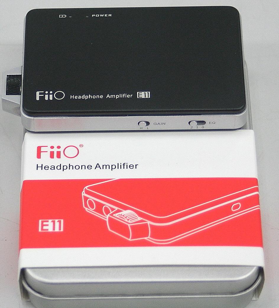 FiiO ヘッドホンアンプ E11
