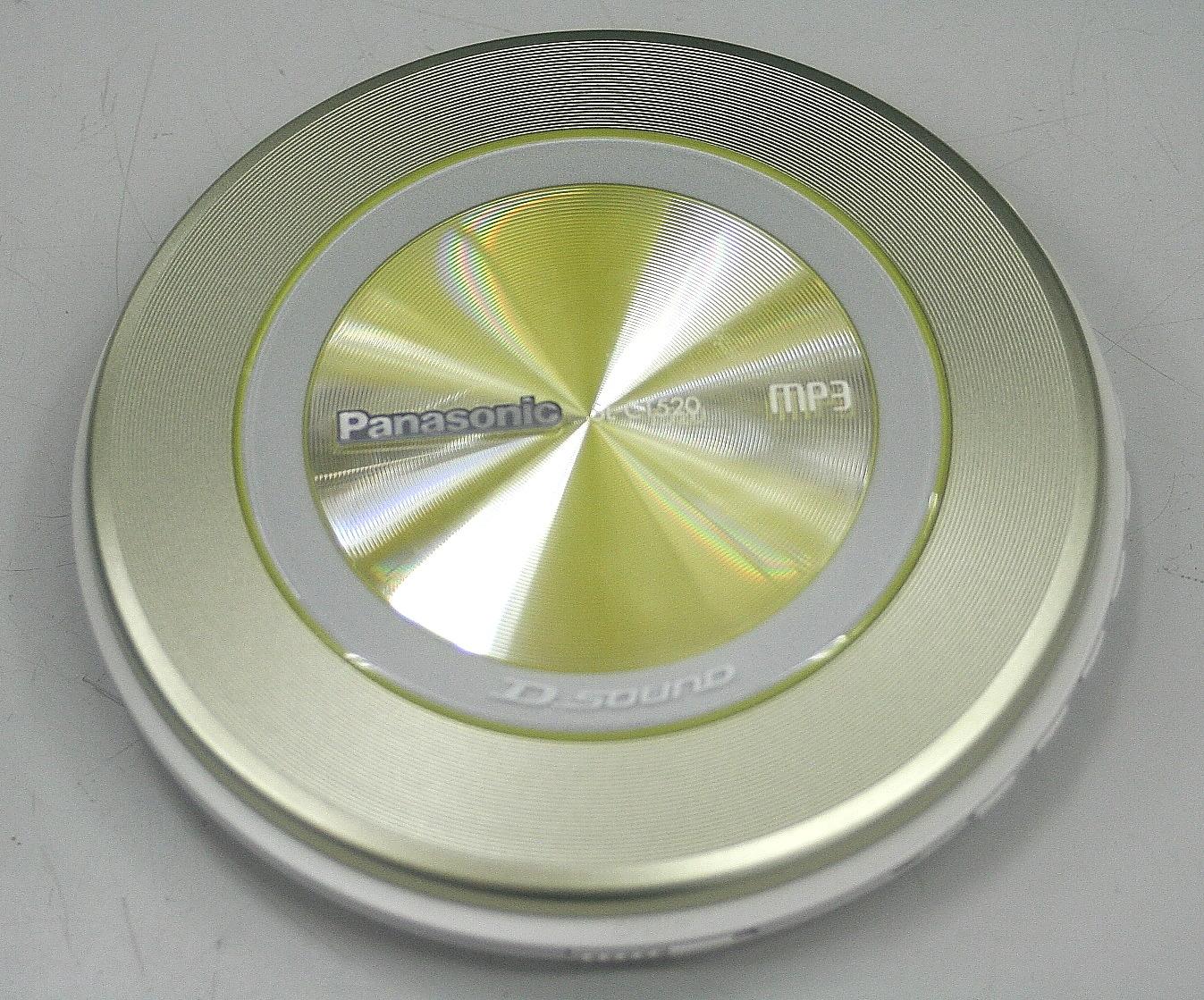 Panasonic ポータブルCDプレーヤー SL-CT520-Y