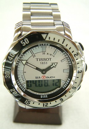 TISSOT 腕時計 SEA-TOUCH