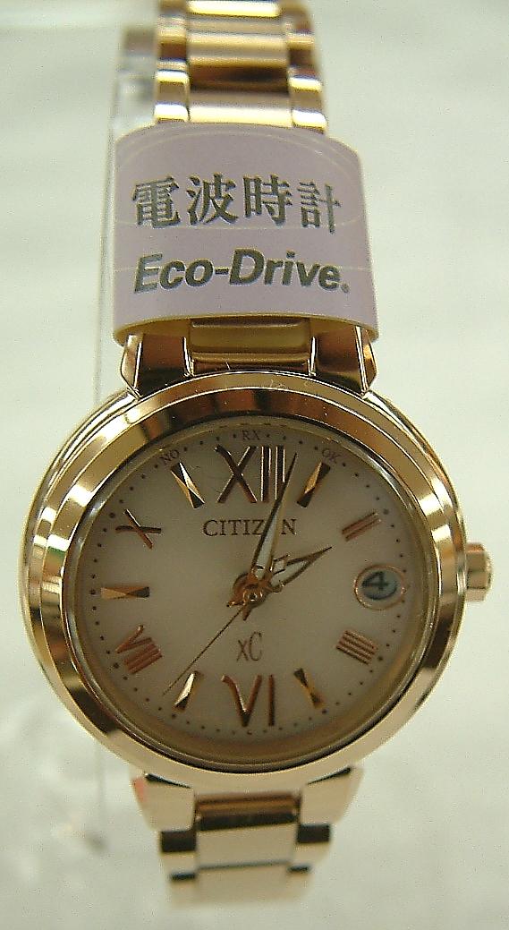 CITIZEN 腕時計 XC エコ・ドライブ