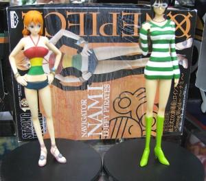 ONE PIECE ナミ&ロビン フィギュア