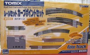 TOMIX Nゲージ レールセットカーブポイントセット(Eパターン)