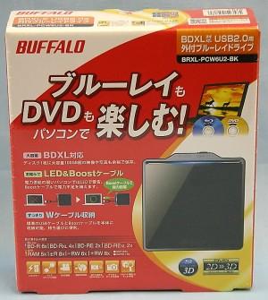 BUFFALO 外付けBDドライブ BDXL-PCW6U2