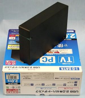 I・O DATA 外付けHDD HDCA-U2.0K