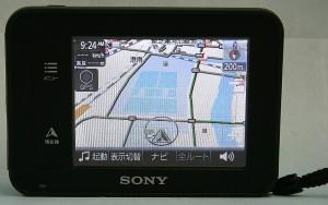 SONY ポータブルナビ NV-U35