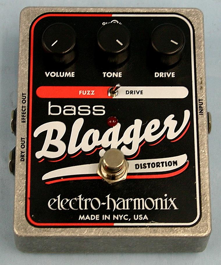 electro-harmonix エフェクター BASS Blogger