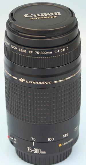 Canon レンズ 75-300mm 1:4-5.6Ⅱ