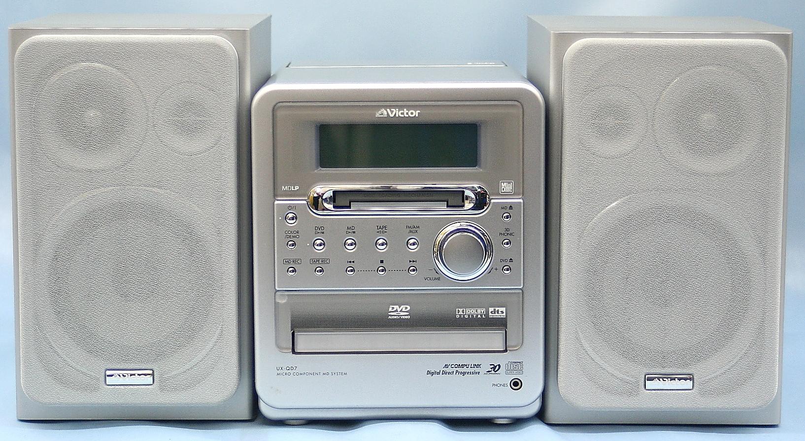 Victor DVDコンポ UX-QD7