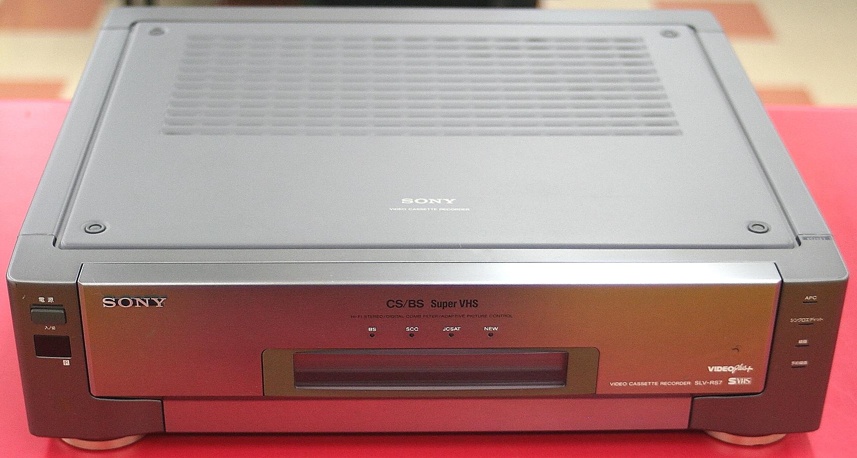 SONY VHSデッキ SLV-RS7