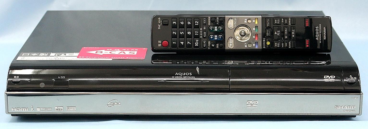 SHARP DVDレコーダー DV-ACW60
