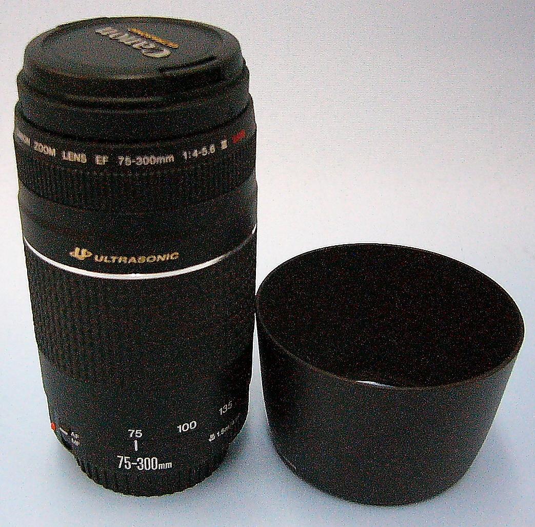 Canon レンズ EF75-300mm 1:4-5.6Ⅲ USM