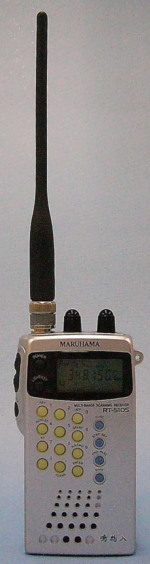 マルハマ マルチバンドレシーバー RT-510S