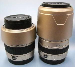 SIGMA レンズ Wズームセット 28-80mm+100-300mm