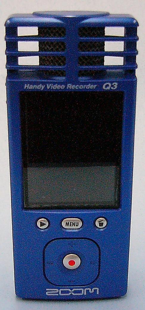 ZOOM ハンディビデオレコーダー Q3