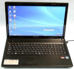 Lenovo ノートパソコン G575