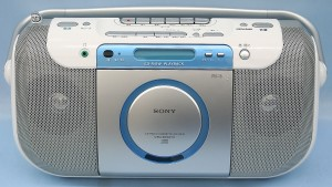 SONY CDラジカセ CFD-E100TV