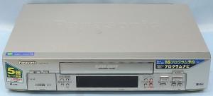Panasonic VHSデッキ NV-HS10
