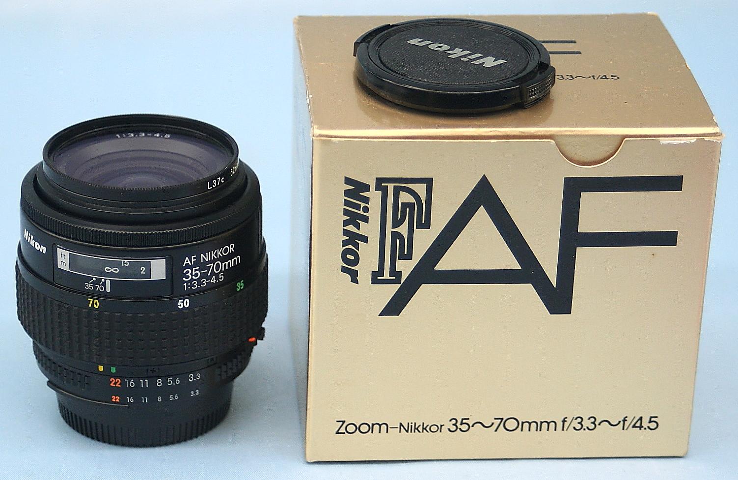 Nikon レンズ Ai AF NIKKOR 35-70mm 3.3-4.5