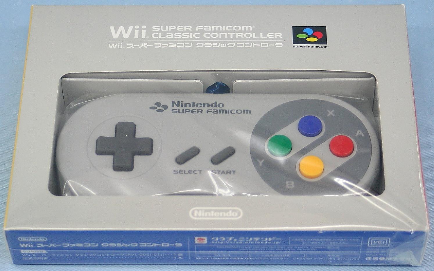 Nintendo Wii スーパーファミコン クラシックコントローラー