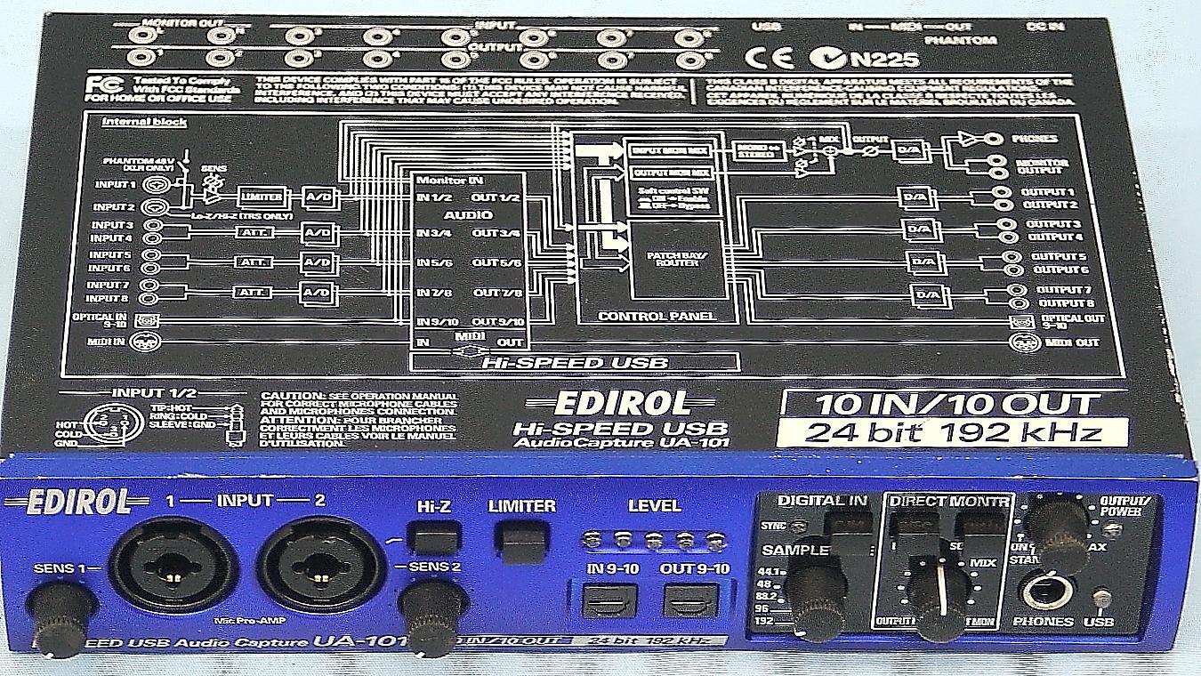 EDIROL オーディオインターフェース UA-101