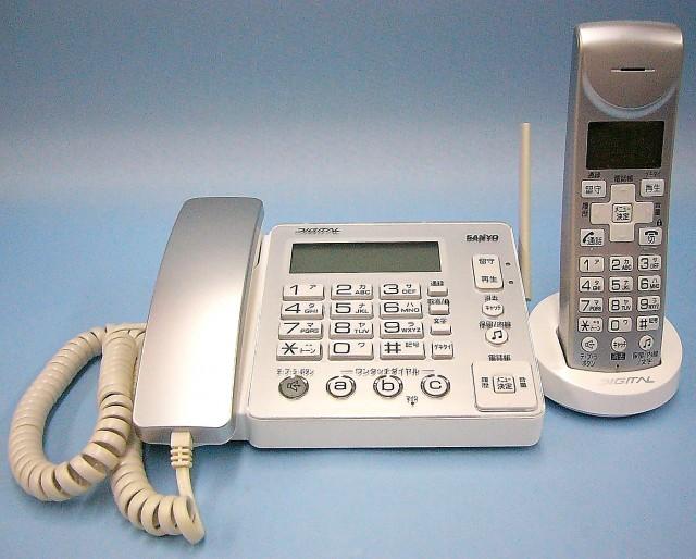 SANYO コードレス電話機 TEL-DH4