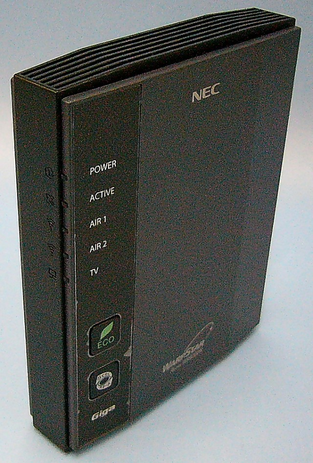 NEC BBルーター Aterm WR8700N
