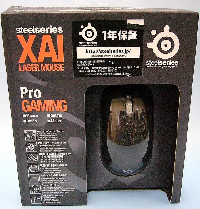 steelseries ゲーミングマウス XAI