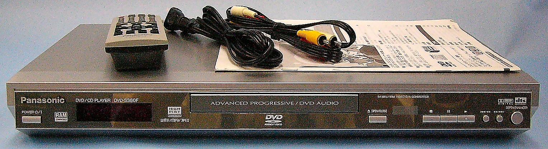 Panasonic DVDプレーヤー DVD-S380F