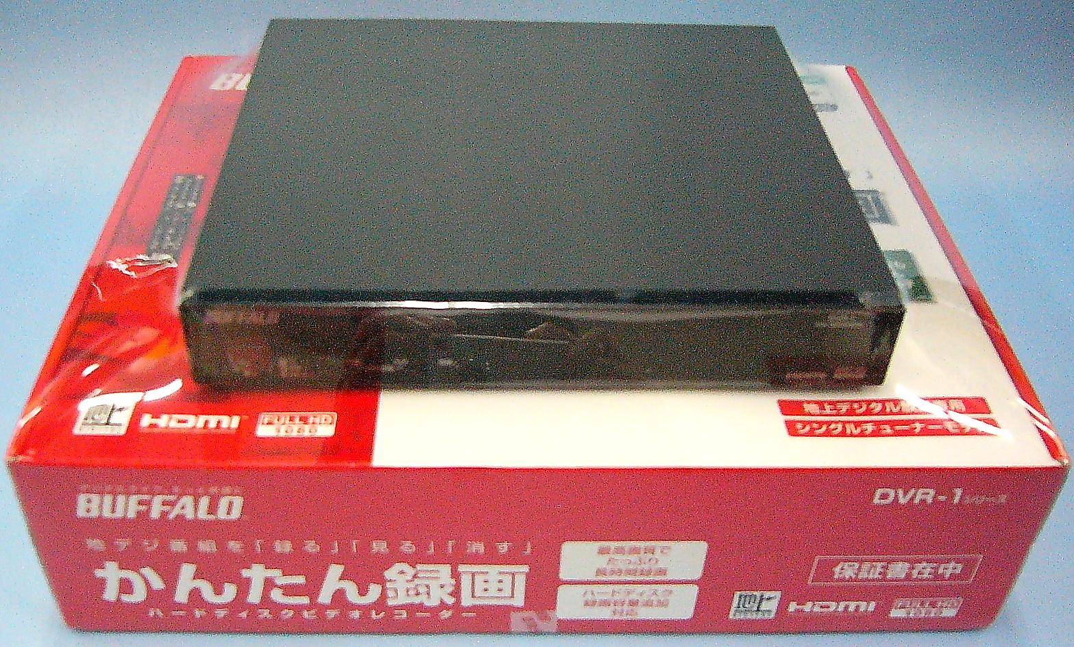 BUFFALO HDDレコーダー DVR-1/500G