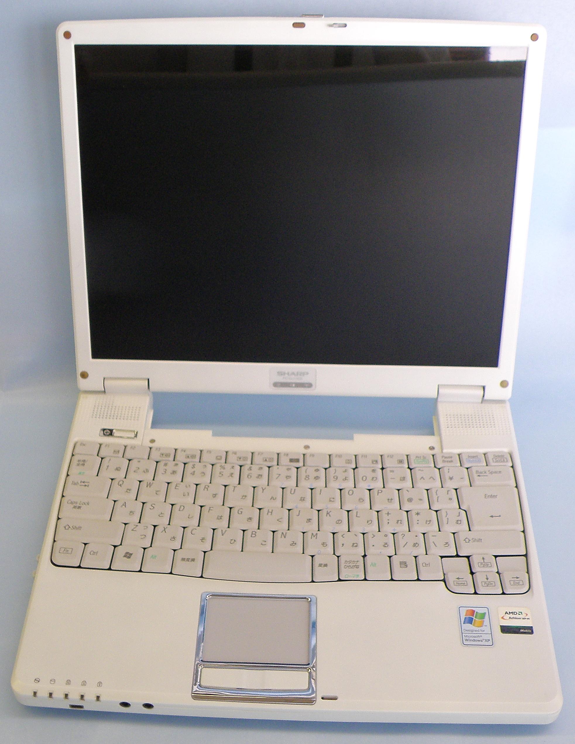 SHARP ノートパソコン PC-CLI-5CE