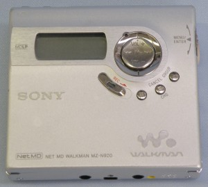 SONY MDウォークマン MZ-N920