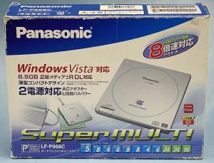 Panasonic DVDマルチドライブ LF-P968C