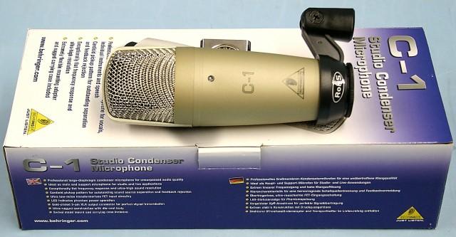 BEHRINGER コンデンサーマイク C-1