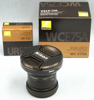 Nikon ワイドコンバーターレンズ WC-E75A/UR-E22