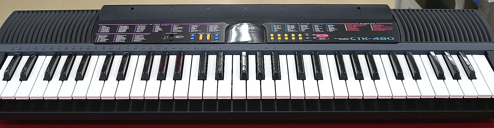 CASIO キーボード CTK-480